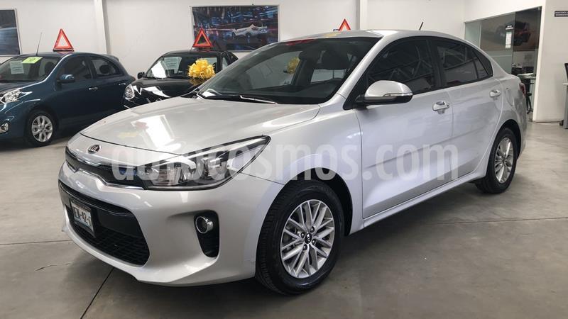 Kia Rio Sedan EX usado (2018) color Plata precio $219,000