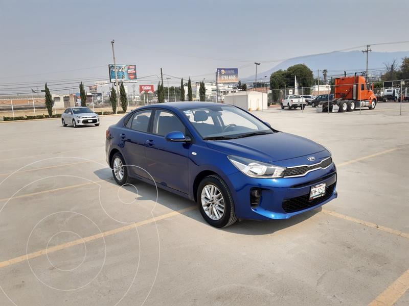 Foto Kia Rio Sedan LX usado (2018) color Azul precio $219,900