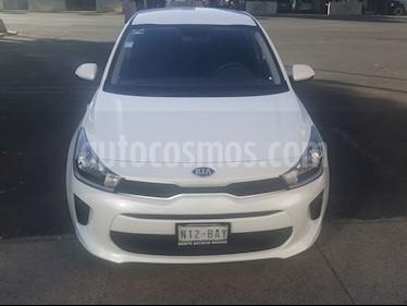 Kia Rio Sedan L usado (2019) color Blanco precio $203,000