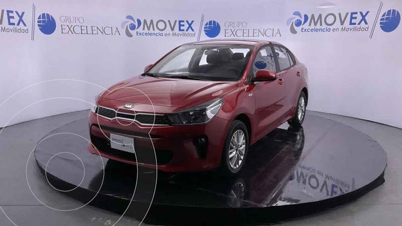 Foto Kia Rio Sedan LX usado (2020) color Rojo precio $270,000
