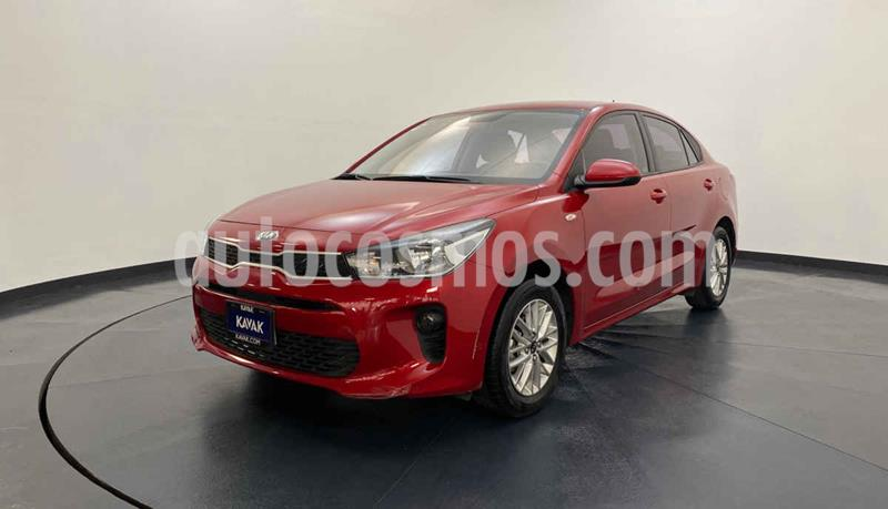 Kia Rio Sedan EX usado (2018) color Rojo precio $227,999