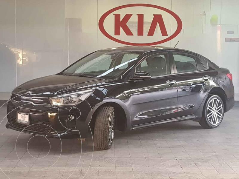 Kia Rio Sedán EX Pack Aut usado (2019) color Negro precio $262,000