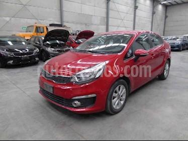 Kia Rio Sedan EX usado (2017) color Rojo precio $72,000