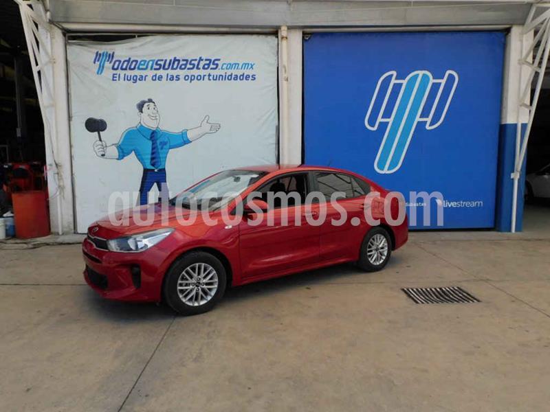 Kia Rio Sedan LX usado (2020) color Rojo precio $185,000