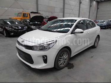 Kia Rio Sedan EX Aut usado (2018) color Blanco precio $96,000