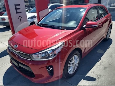 Kia Rio Sedan EX Pack Aut usado (2018) color Rojo precio $234,900