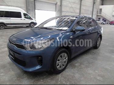 Kia Rio Sedan L usado (2020) color Azul precio $161,000