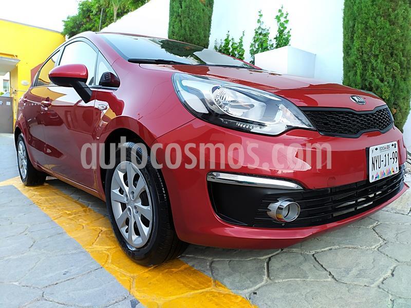 Kia Rio Sedan LX usado (2017) color Rojo precio $144,900