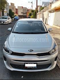 Kia Rio Sedan LX usado (2018) color Plata precio $190,000