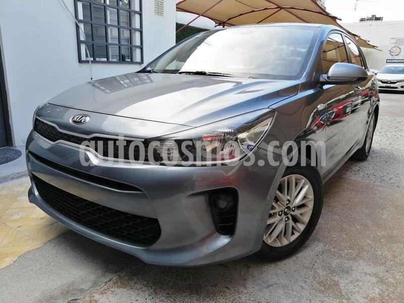 Kia Rio Sedan LX Aut usado (2020) color Gris precio $239,000