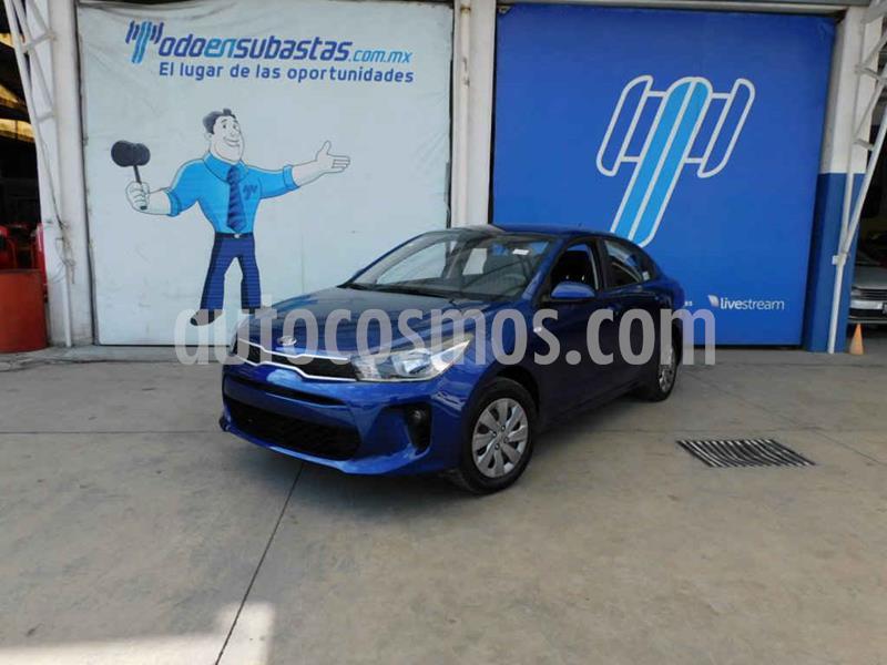Kia Rio Sedan L usado (2020) color Azul precio $167,000