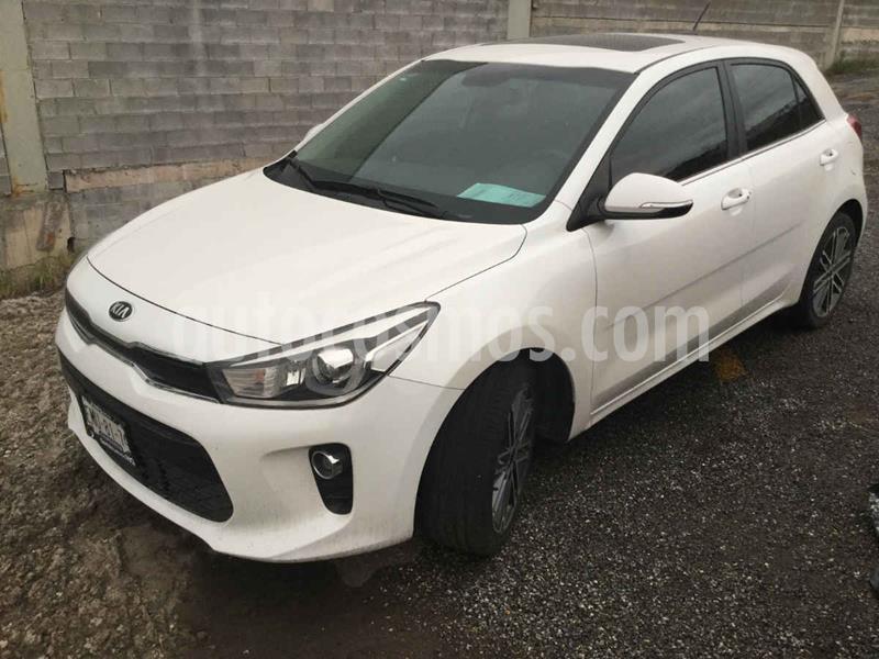 Kia Rio Sedan EX Pack Aut usado (2018) color Blanco precio $258,000