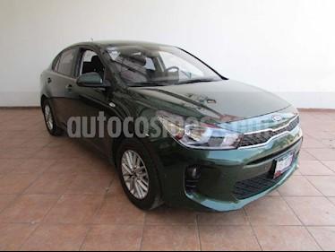 Kia Rio Sedan LX Aut usado (2018) color Verde precio $215,000