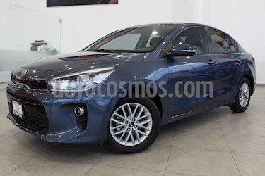 Kia Rio Sedan EX usado (2018) color Azul precio $224,000