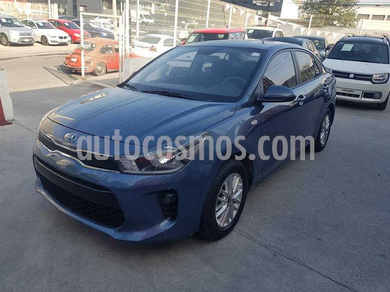 Kia Rio Sedan LX usado (2019) color Azul precio $215,000