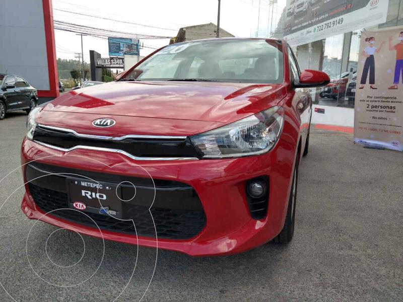 Kia Rio Sedan EX Aut usado (2020) color Rojo precio $289,900