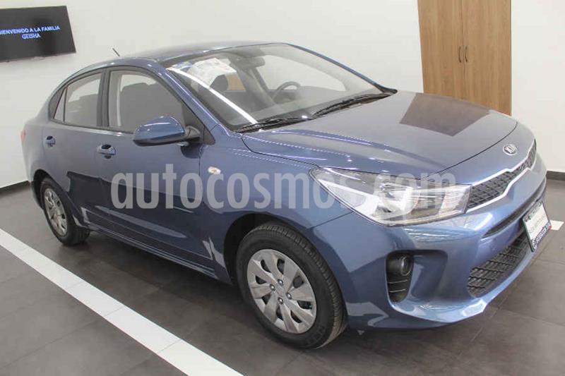 Kia Rio Sedan EX usado (2020) color Azul precio $239,000