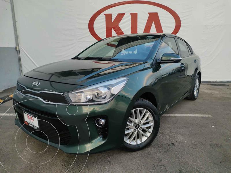 Foto Kia Rio Sedan EX usado (2018) color Verde precio $225,000