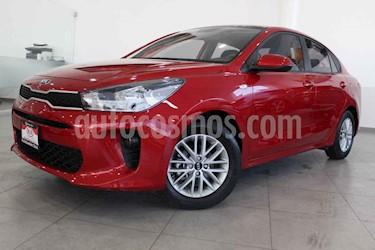 Kia Rio Sedan LX usado (2019) color Rojo precio $229,000