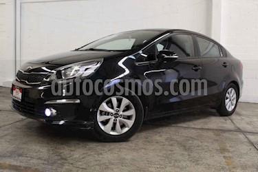 Kia Rio Sedan EX usado (2017) color Negro precio $195,000