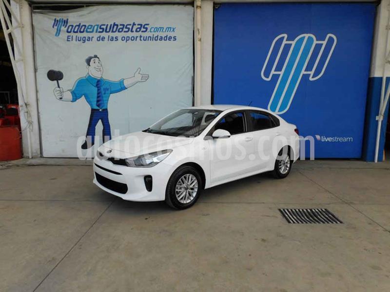 Kia Rio Sedan LX Aut usado (2020) color Blanco precio $203,000