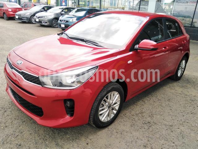 Kia Rio Sedan 4P LX L4/1.6 MAN usado (2018) color Rojo precio $190,000
