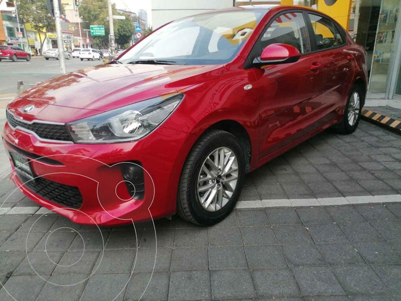 Kia Rio Sedan L usado (2020) color Rojo precio $249,000