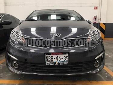 Kia Rio Sedan 4P EX TM6 VE F. NIEBLA RA-15 usado (2017) color Negro precio $179,900