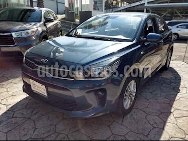 Kia Rio Sedan LX usado (2018) color Azul precio $230,000