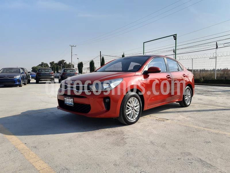 Kia Rio Sedan LX Aut usado (2018) color Rojo precio $193,000