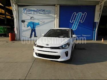 Kia Rio Sedan L usado (2020) color Blanco precio $153,000