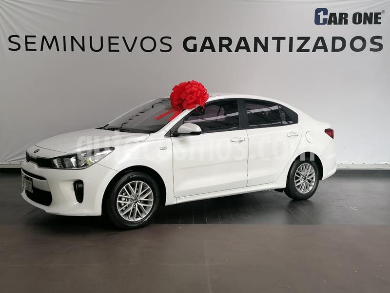 Kia Rio Sedan LX Aut usado (2019) color Blanco Glaciar precio $219,900