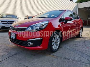 Kia Rio Sedan EX usado (2017) color Rojo precio $199,000