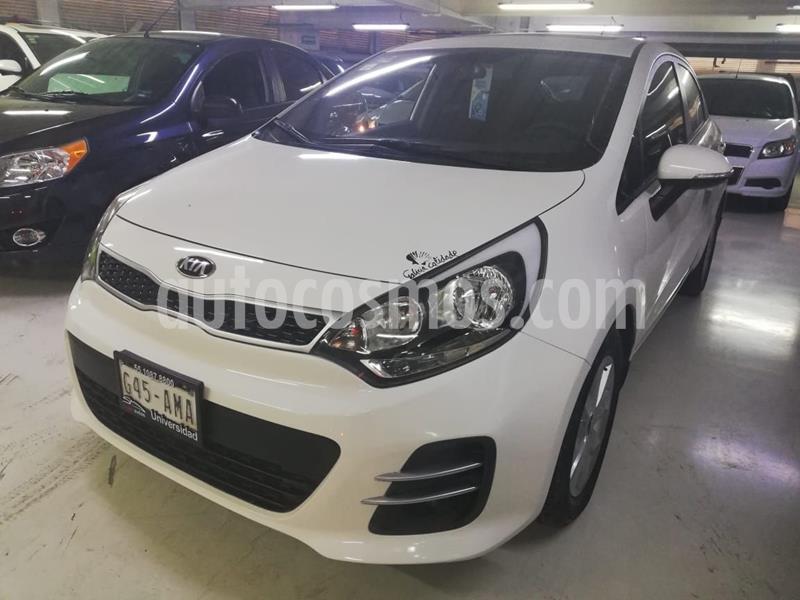 Kia Rio Sedan EX usado (2017) color Blanco precio $209,100