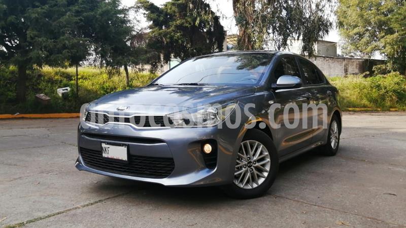 Kia Rio Sedan LX usado (2020) color Gris Oscuro precio $229,000
