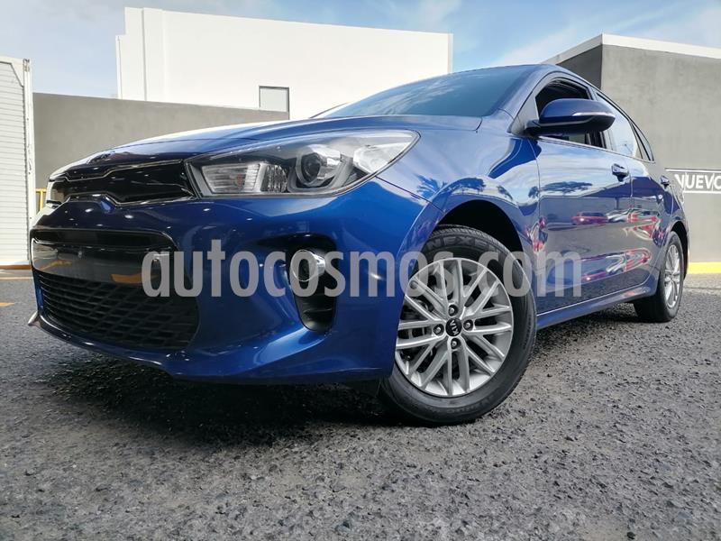 Kia Rio Sedan EX usado (2018) color Azul precio $212,000
