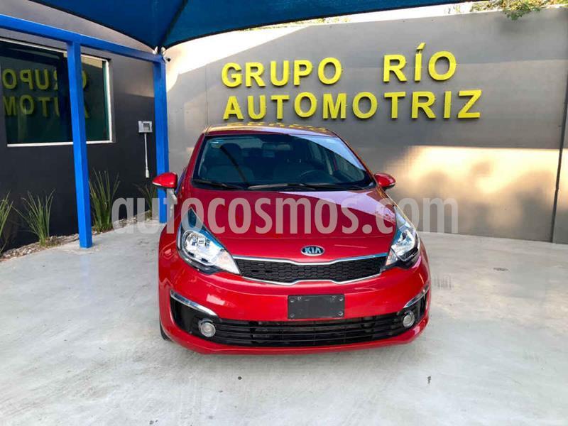 Kia Rio Sedan EX usado (2017) color Rojo precio $189,000