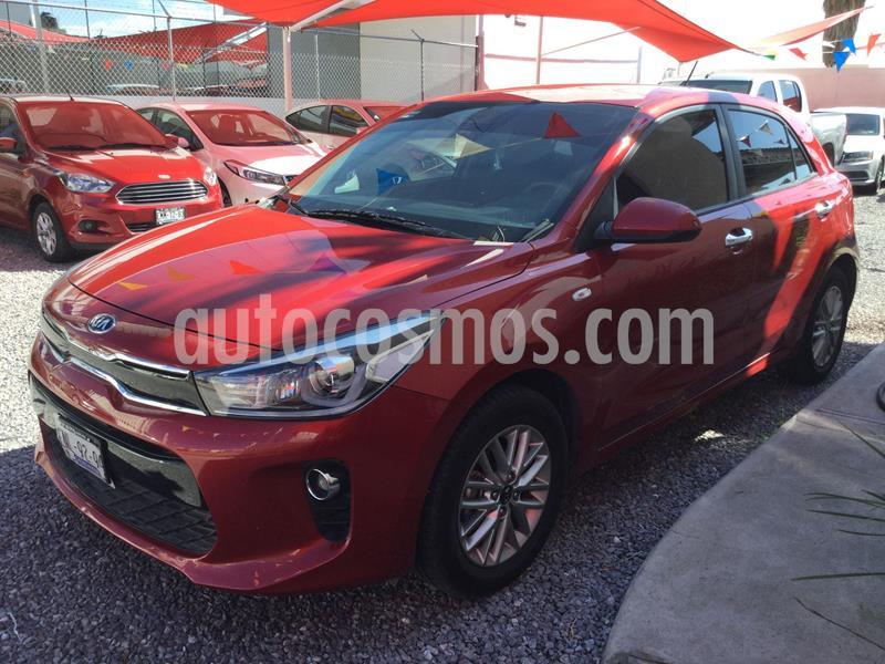 Kia Rio Sedan EX Aut usado (2019) color Rojo precio $238,000