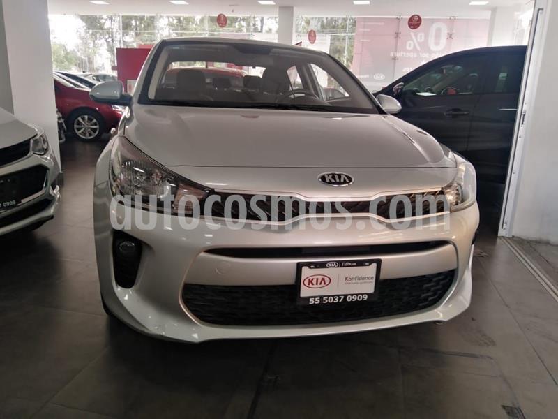 Kia Rio Sedan LX Aut usado (2019) color Plata Dorado precio $235,000