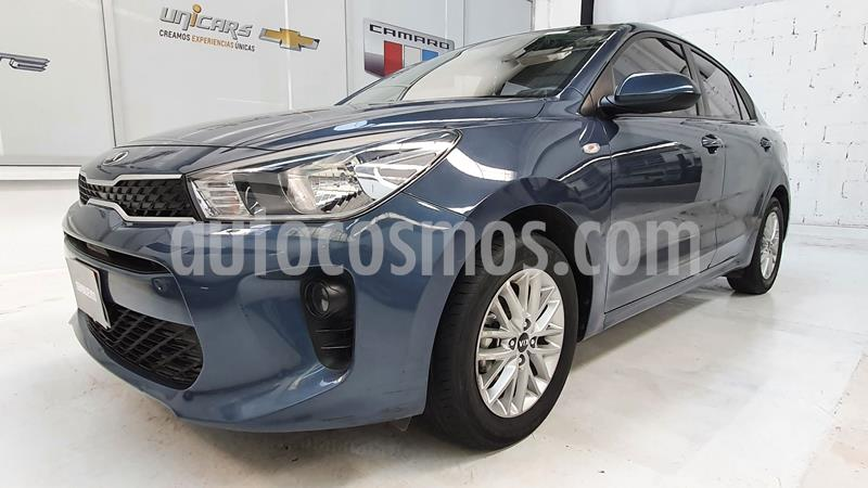 Kia Rio Sedan LX usado (2018) color Gris Oscuro precio $187,000