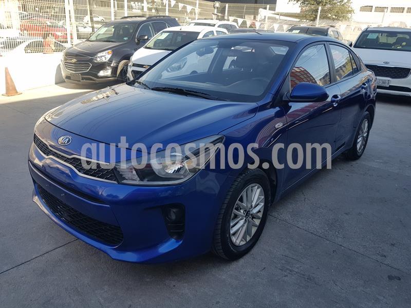 Kia Rio Sedan LX usado (2020) color Azul precio $241,000