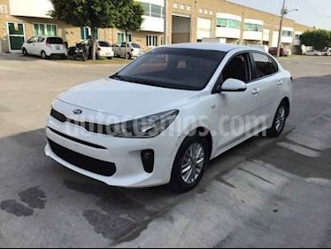 Kia Rio Sedan LX usado (2018) color Blanco precio $113,000