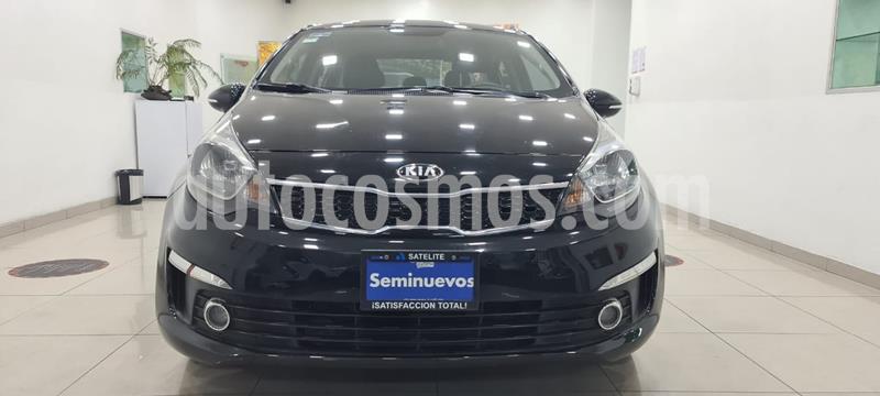 Kia Rio Sedan EX usado (2017) color Negro precio $199,000