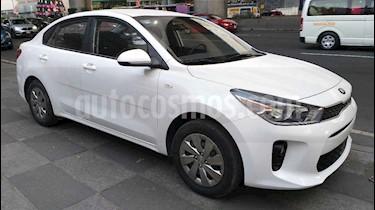 Kia Rio Sedan LX Aut usado (2018) color Blanco precio $159,000