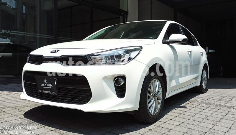 Kia Rio Sedan EX Aut usado (2018) color Blanco precio $243,000