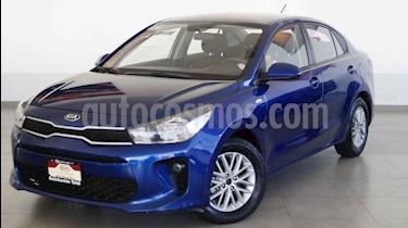 Kia Rio Sedan LX usado (2018) color Azul precio $209,000