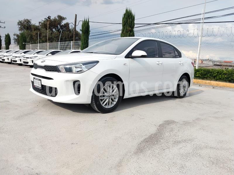 Kia Rio Sedan LX usado (2020) color Blanco precio $227,000