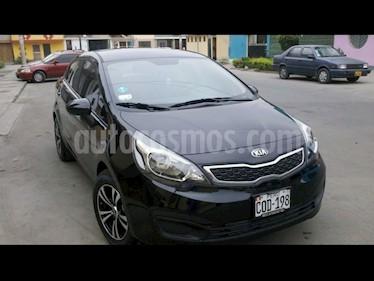 KIA Rio 1.2 LX usado (2012) color Negro precio u$s4,500