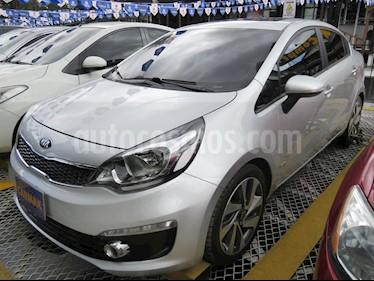Foto venta Carro usado KIA Rio 1.4L (2017) color Plata precio $42.900.000