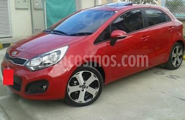 KIA Rio 1.4L usado (2013) color Rojo precio $18.000.000